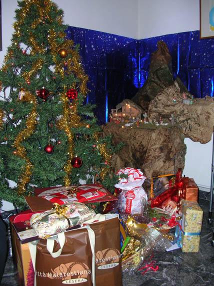 angolo natalizio in sala